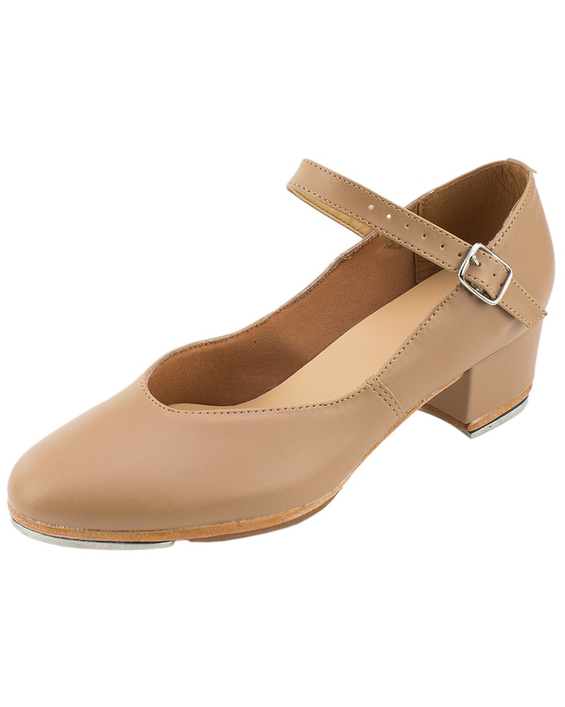 So Danca Zelda Cuban Heel Leather Character Tap Shoes - TA44S Girls - Dance Shoes - Tap Shoes - Dancewear Centre Canada