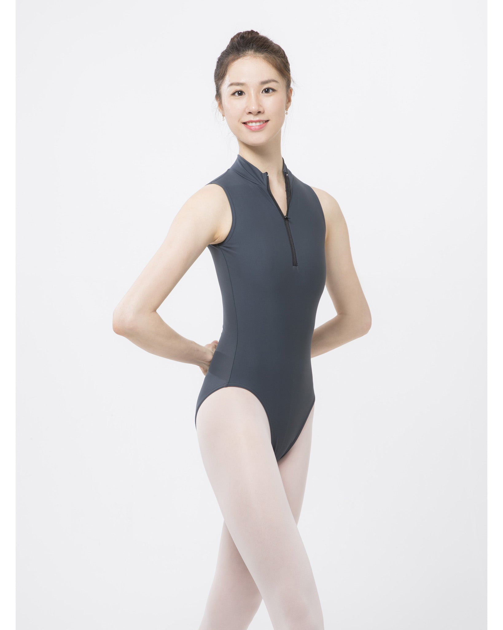 Sonata Classic High Neck Zip Up Leotard - SL4474 Womens - Dancewear - Bodysuits & Leotards - Dancewear Centre Canada