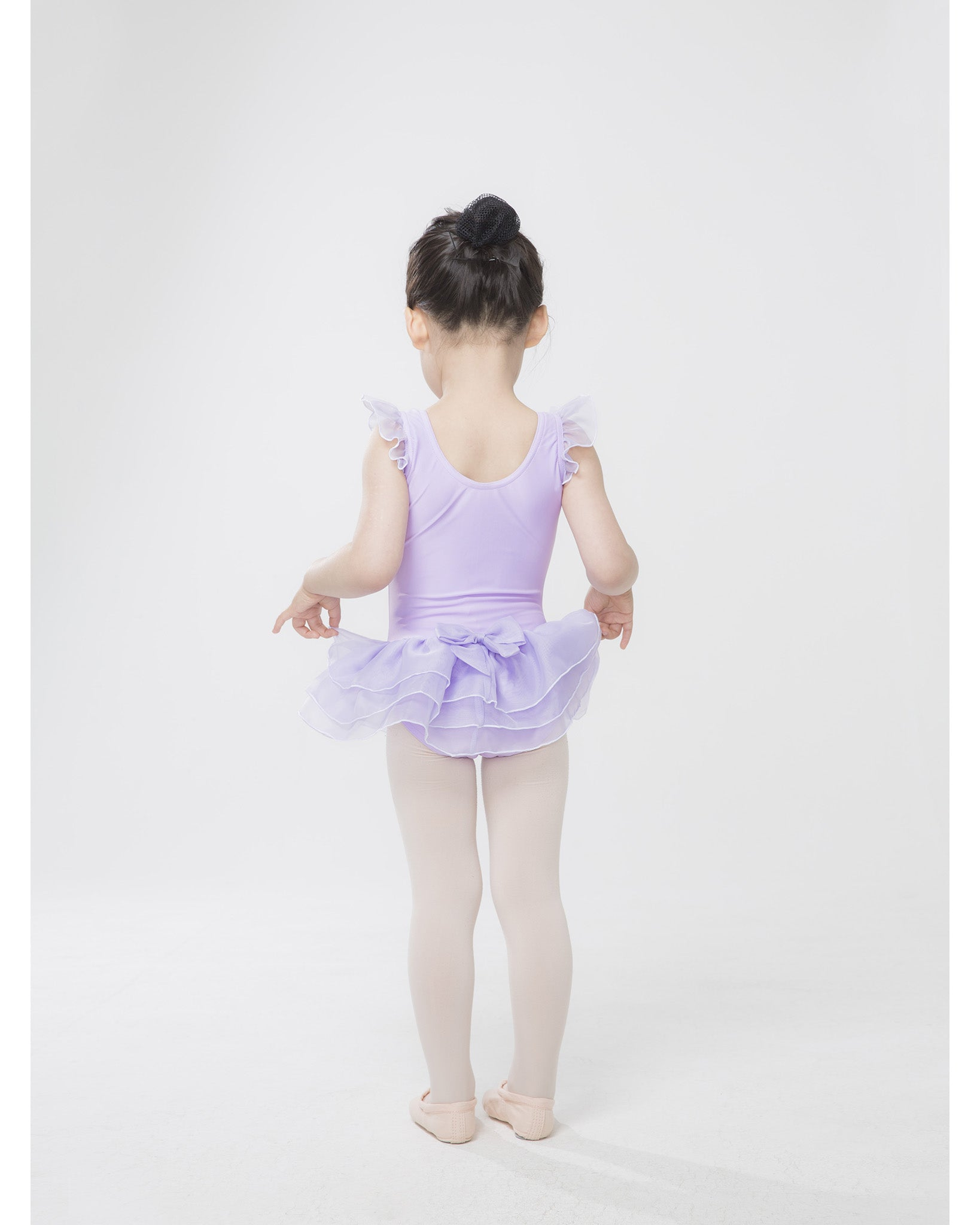 Sonata Little Star Ruffle Sleeve Tutu Dress - STAR014 Girls - Dancewear - Dresses - Dancewear Centre Canada