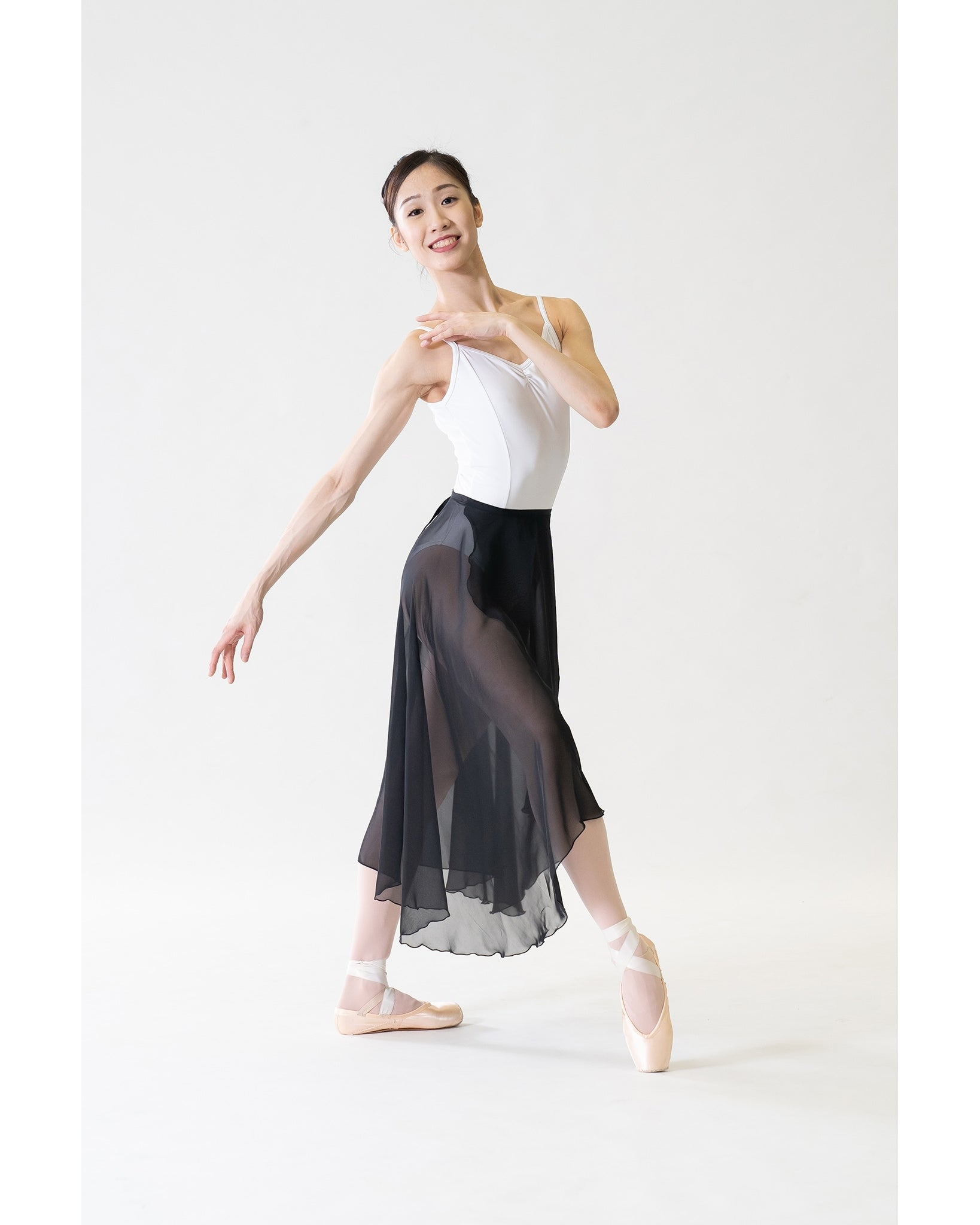 Sonata Rehearsal Long Wrap Skirt - WSK14 Womens - Dancewear - Skirts - Dancewear Centre Canada