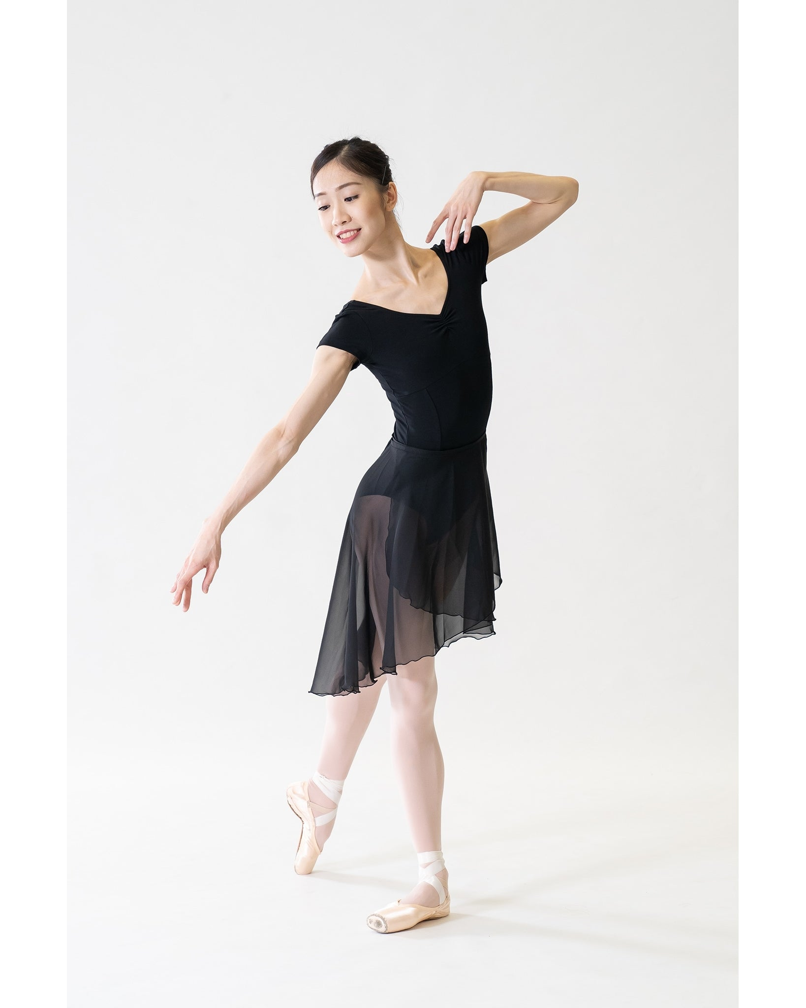 Sonata Repertoire Asymmetrical Ballet Wrap Skirt - WSK19 Womens - Dancewear - Skirts - Dancewear Centre Canada