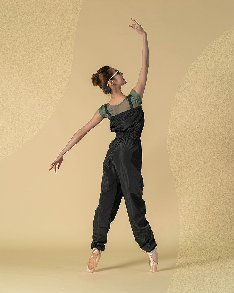 Sonata Ripstop Full Length Jumpsuit - SWP33 Womens - Dancewear - Warmups - Dancewear Centre Canada