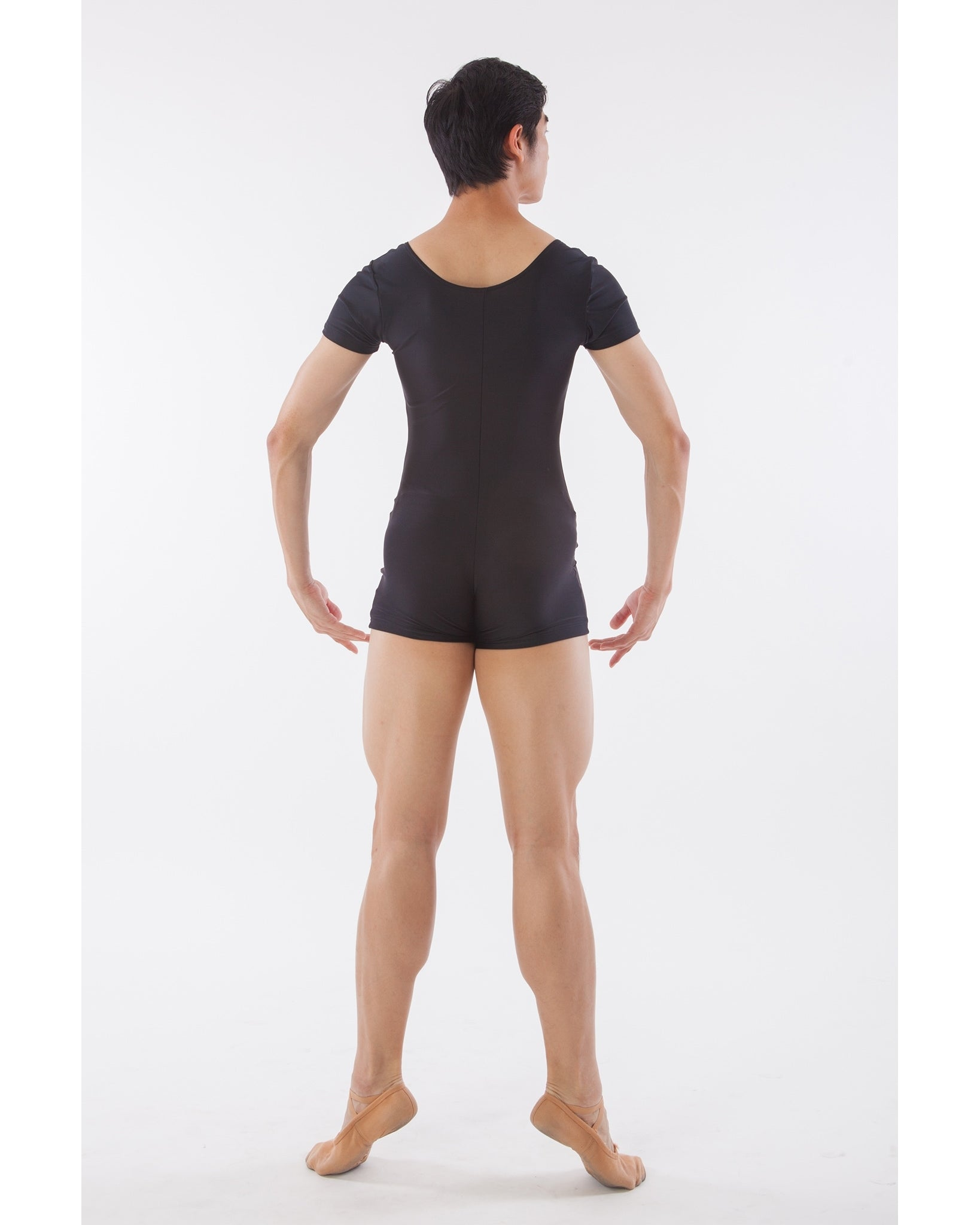 Sonata Short Sleeve Biketard - MUB05 Mens - Dancewear - Men's & Boys - Dancewear Centre Canada