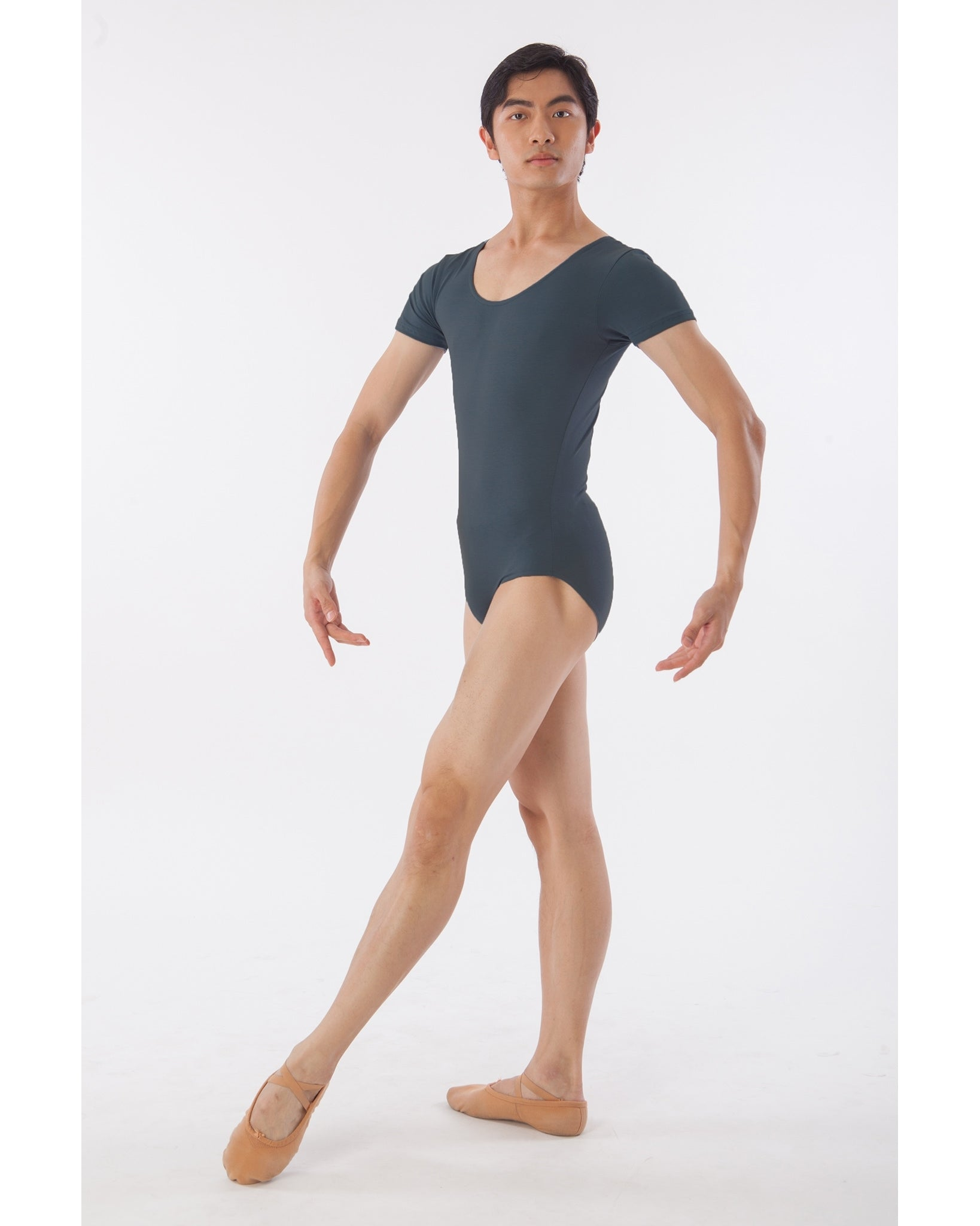 Sonata Short Sleeve Leotard - SML4405 Mens - Dancewear - Men's & Boys - Dancewear Centre Canada