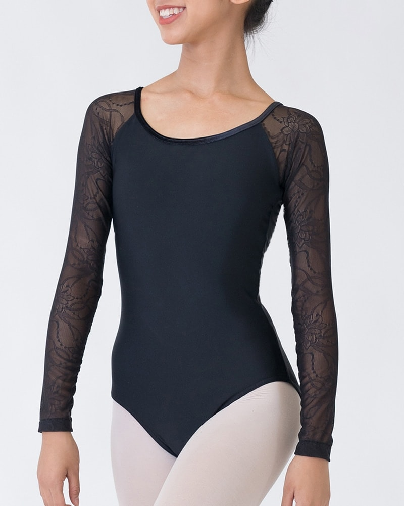 Sonata An Long Sleeve Leotard - PL1804 Womens - Dancewear - Bodysuits & Leotards - Dancewear Centre Canada