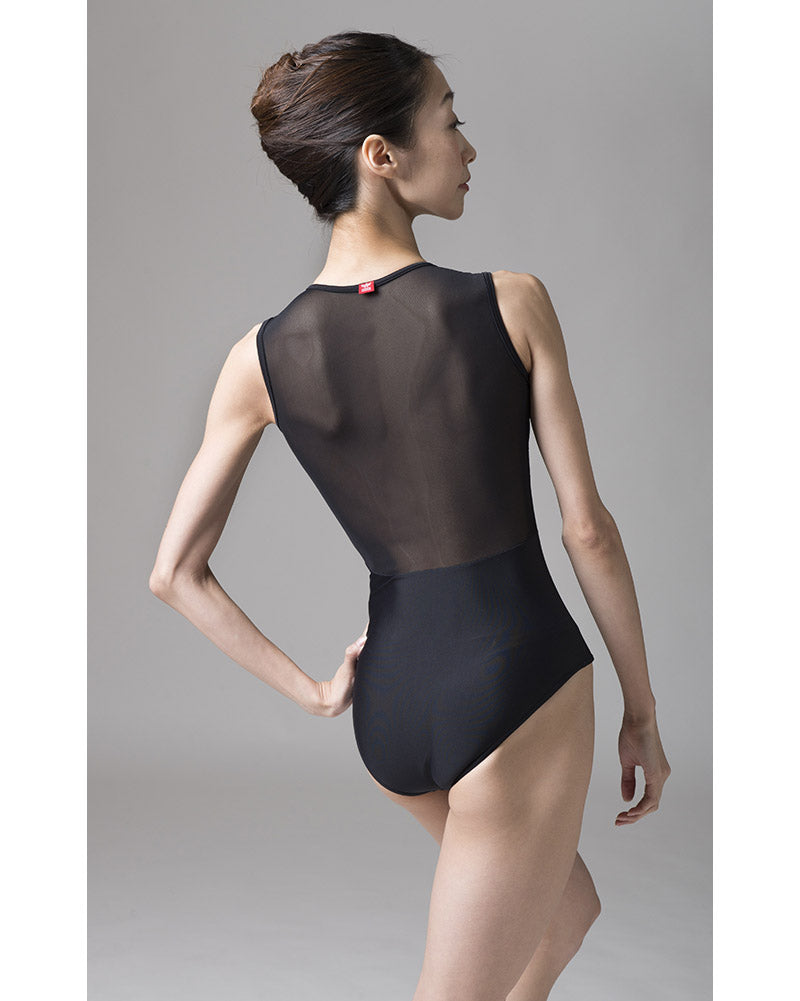 Sonata Kanta Power Mesh Zip Front Leotard - PL1701 Womens - Dancewear - Bodysuits & Leotards - Dancewear Centre Canada