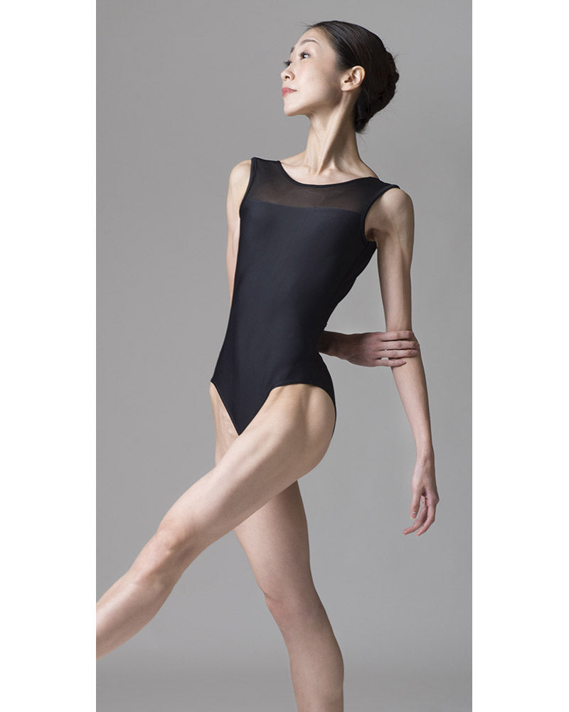 Sonata Kara Power Mesh V-Back Leotard - PL1702 Womens - Dancewear - Bodysuits & Leotards - Dancewear Centre Canada