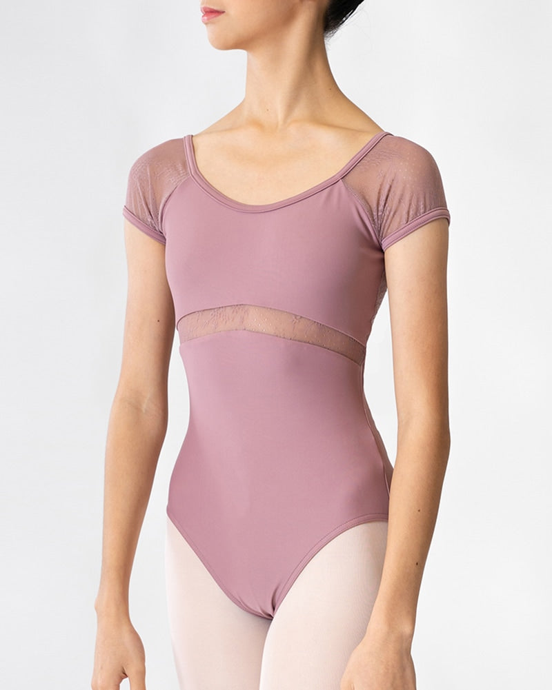 Sonata Lily Cap-Sleeved Leotard - PL1811 Womens - Dancewear - Bodysuits & Leotards - Dancewear Centre Canada