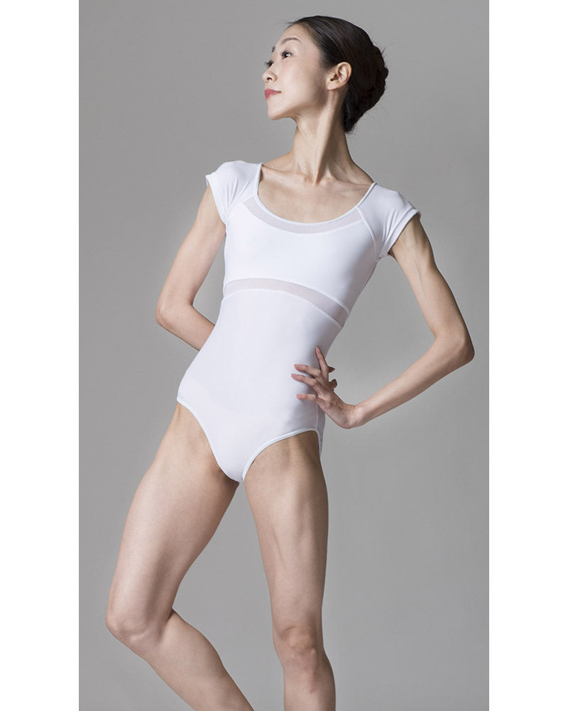 Sonata Lina Power Mesh Cap Sleeved Leotard - PL1704 Womens - Dancewear - Bodysuits & Leotards - Dancewear Centre Canada