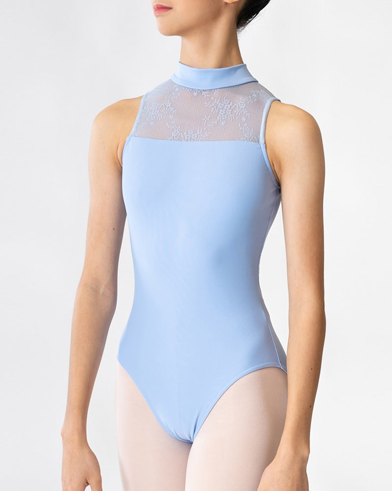 Sonata Rou High-Neck Leotard - PL1815 Womens - Dancewear - Bodysuits & Leotards - Dancewear Centre Canada