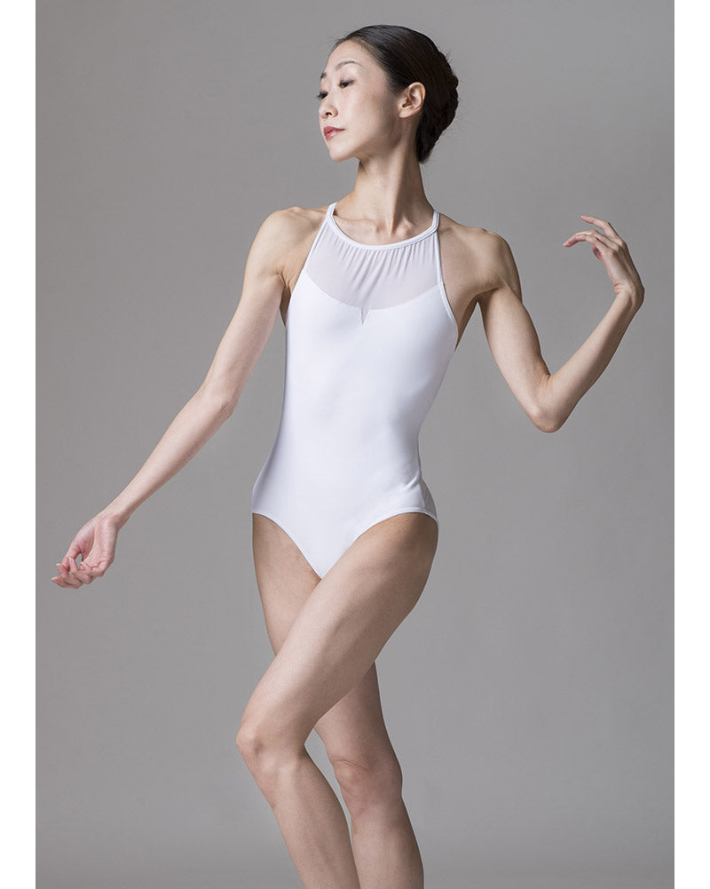 Sonata Yu Power Mesh Halter Leotard - PL1703 Womens - Dancewear - Bodysuits & Leotards - Dancewear Centre Canada