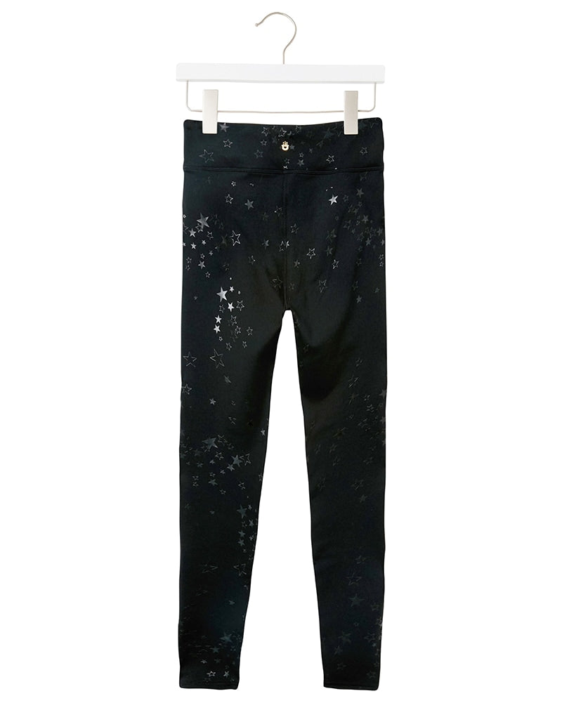 Spiritual Gangster Active Legging - Girls - Star Clusters Print - Activewear - Bottoms - Dancewear Centre Canada