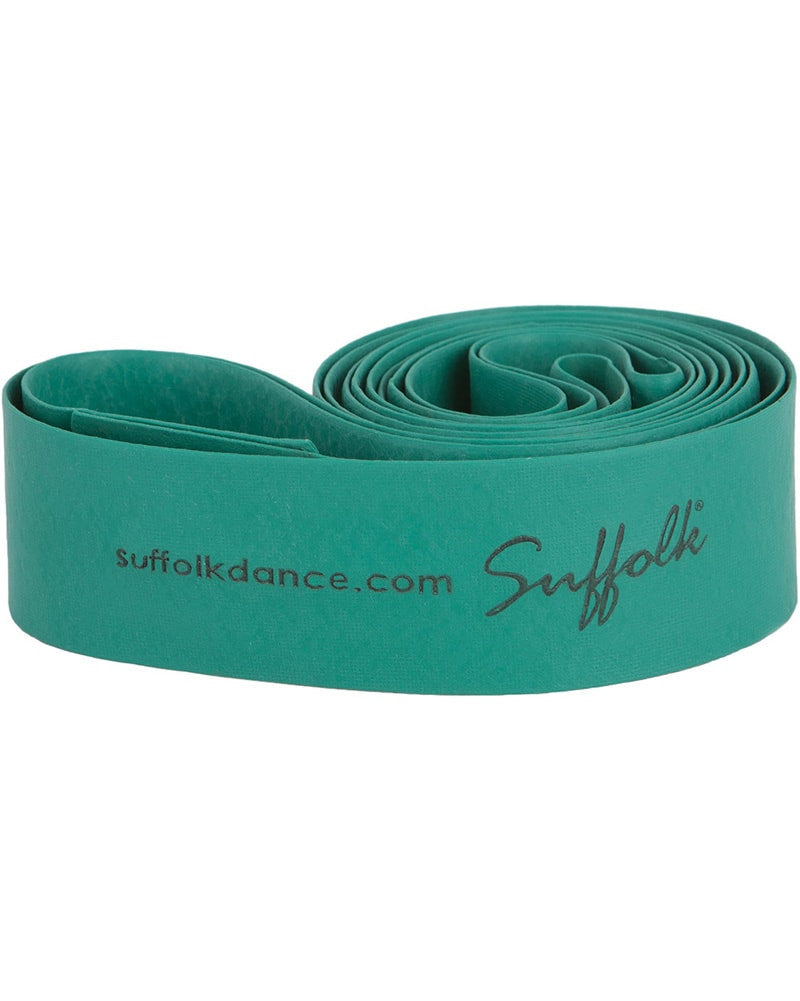 Suffolk Limber Loop Resistance Dance Stretch Band - 1540 - Green - Accessories - Exercise & Training - Dancewear Centre Canada