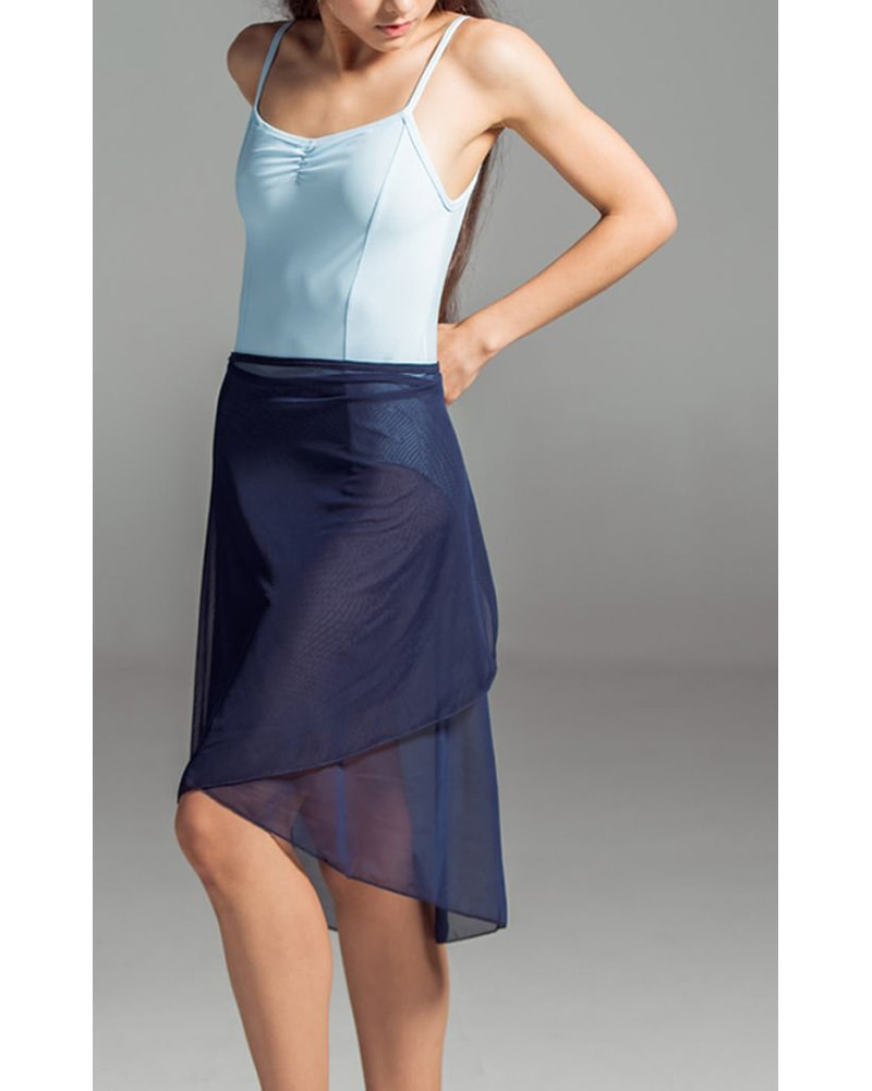 Suffolk High Low Long Ballet Wrap Skirt - 1011A Womens - Dancewear - Skirts - Dancewear Centre Canada