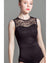 Suffolk Jayne Mansfield Lace Overlay Sleeveless Leotard - 2016A Womens
