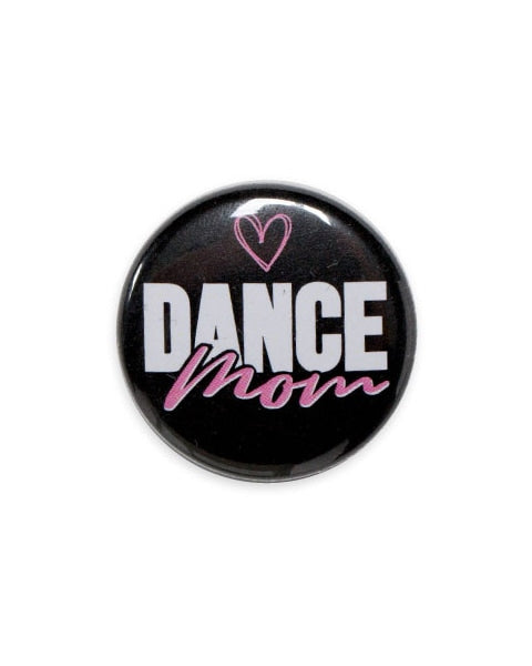 Sugar and Bruno Dance Mom Button - B1195