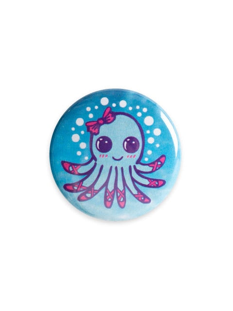 Sugar and Bruno Ballet Octopus Button - B1240 - Accessories - Dance Gifts - Dancewear Centre Canada