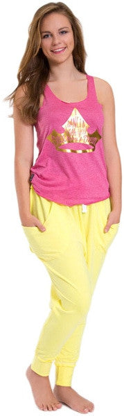 Sugar and Bruno Once Upon A Dream Racerback Tank Top - D7439 Womens - Pink - Dancewear - Tops - Dancewear Centre Canada