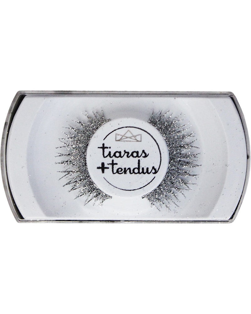 Tiaras + Tendus - Glitter Cross Lash Dance Performance Eyelashes - Accessories - Makeup - Dancewear Centre Canada