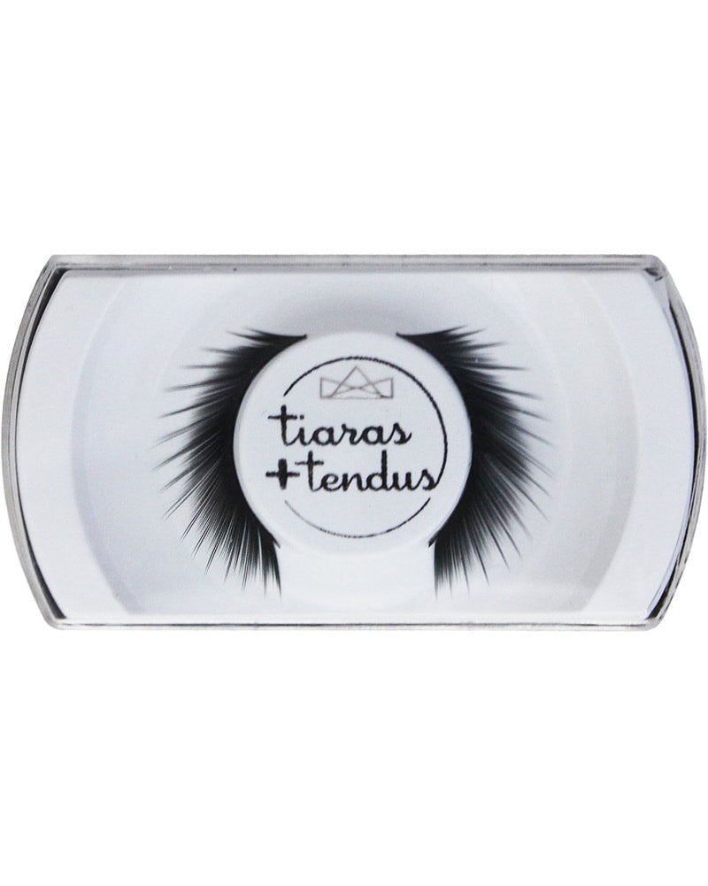 Tiaras + Tendus Flared Lash Dance Performance Eyelashes - Black - Accessories - Makeup - Dancewear Centre Canada