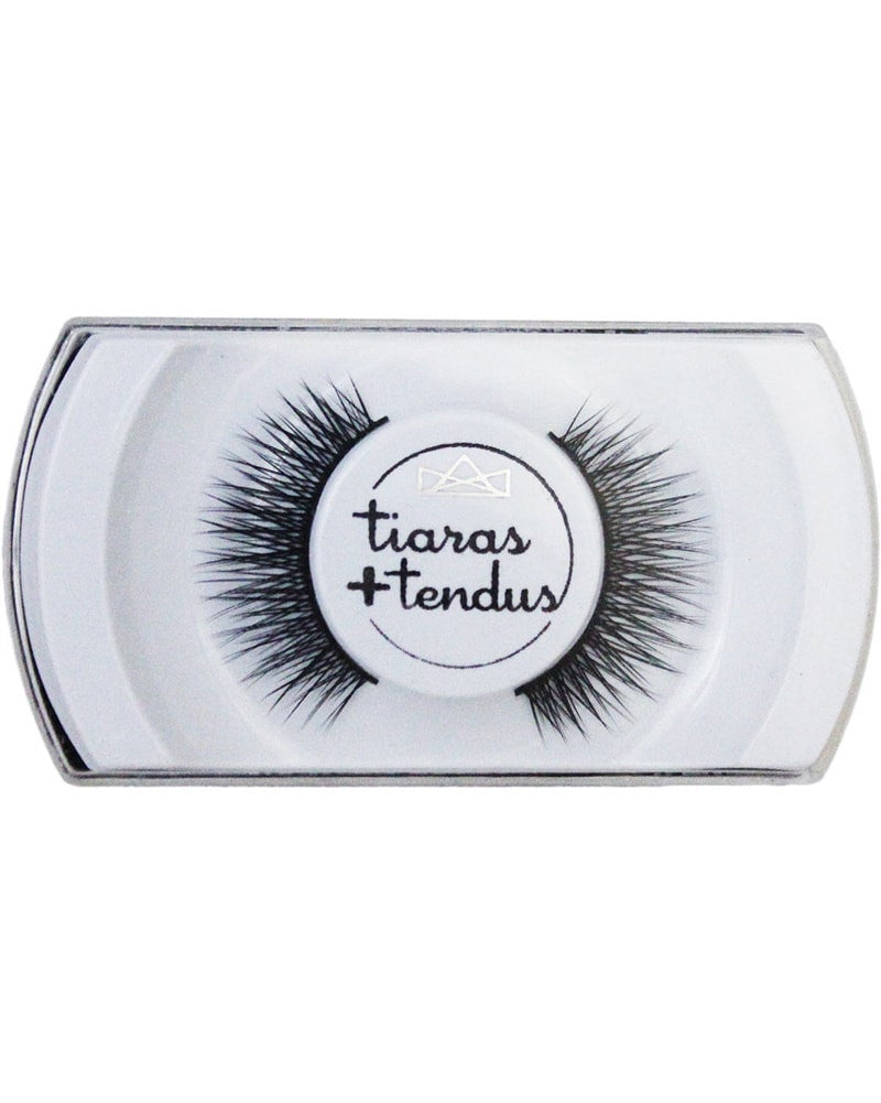 Tiaras + Tendus Bold Lash Dance Performance Eyelashes - Silver