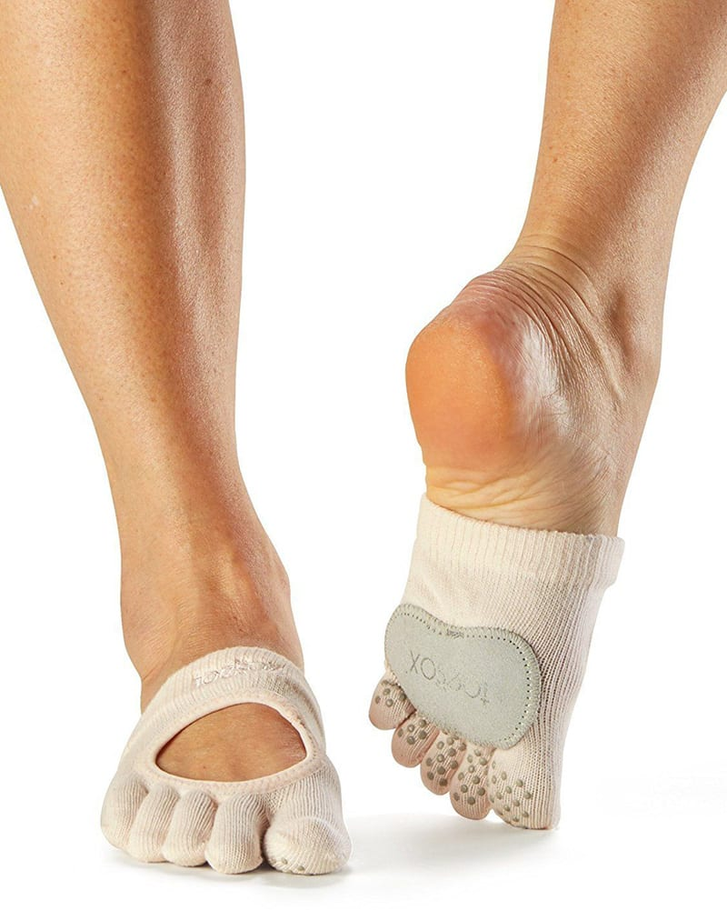ToeSox Full Toe Releve Grip Half Socks - Dancewear - Socks - Dancewear Centre Canada