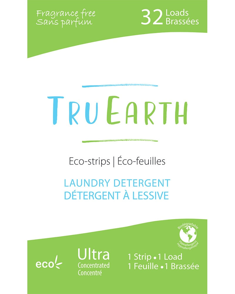 Tru Earth Laundry Strip Detergent - Fragrance Free - Accessories - Dance Care - Dancewear Centre Canada