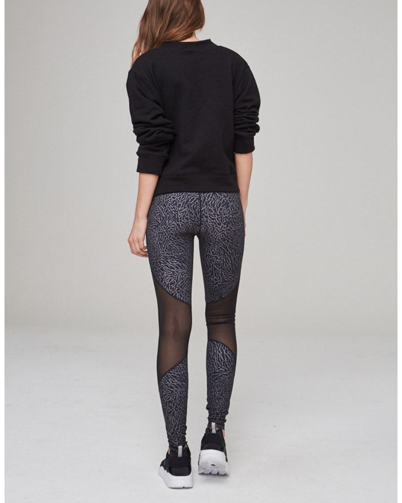 Varley Alameda Legging - Womens - Elephant Print - Activewear - Bottoms - Dancewear Centre Canada