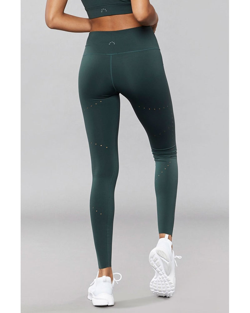 Varley Boden Legging - Womens - Darker Spruce Green - Activewear - Bottoms - Dancewear Centre Canada