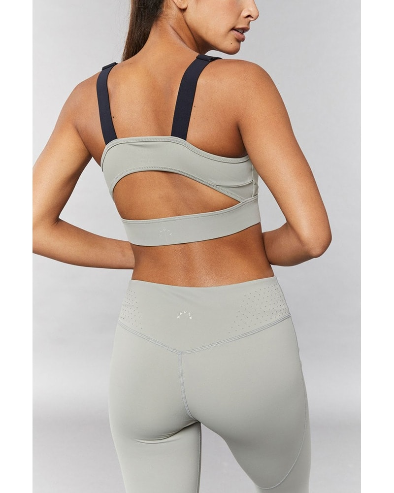 Varley Edris Bra - Womens - Rock Ridge Green - Activewear - Tops - Dancewear Centre Canada