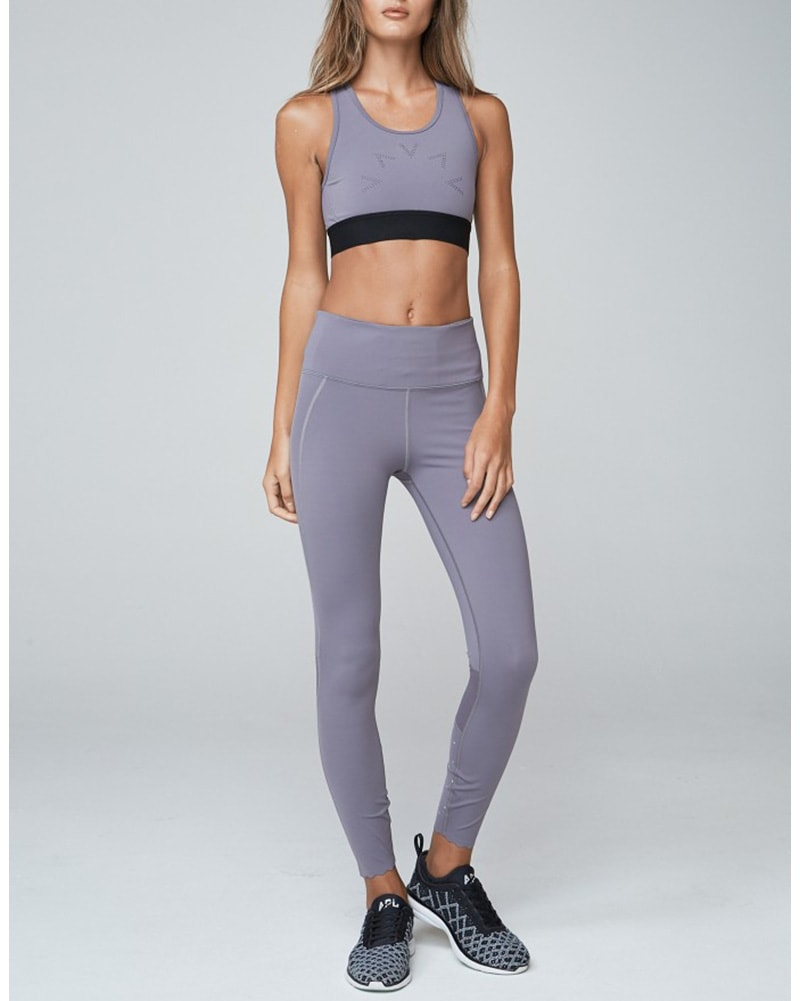 Varley Emory Legging - Womens - Excalibur Grey - Activewear - Bottoms - Dancewear Centre Canada
