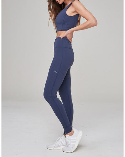 Varley Gaines Legging - Womens - Navy - Activewear - Bottoms - Dancewear Centre Canada