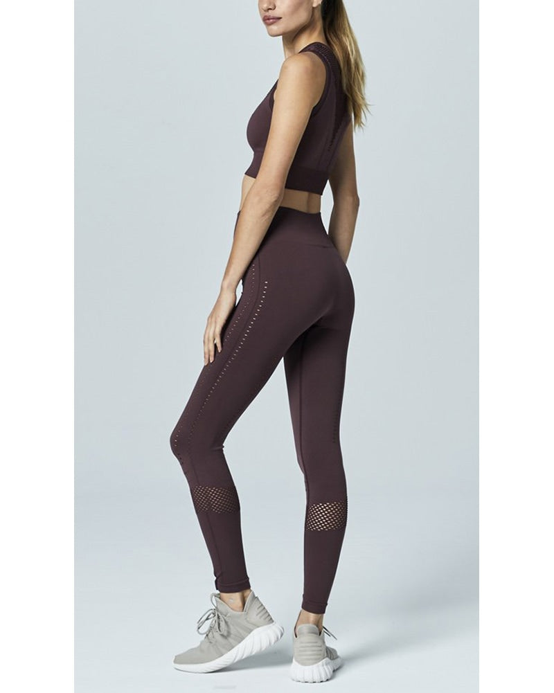 Varley Justin Legging - Womens - Fig - Activewear - Bottoms - Dancewear Centre Canada