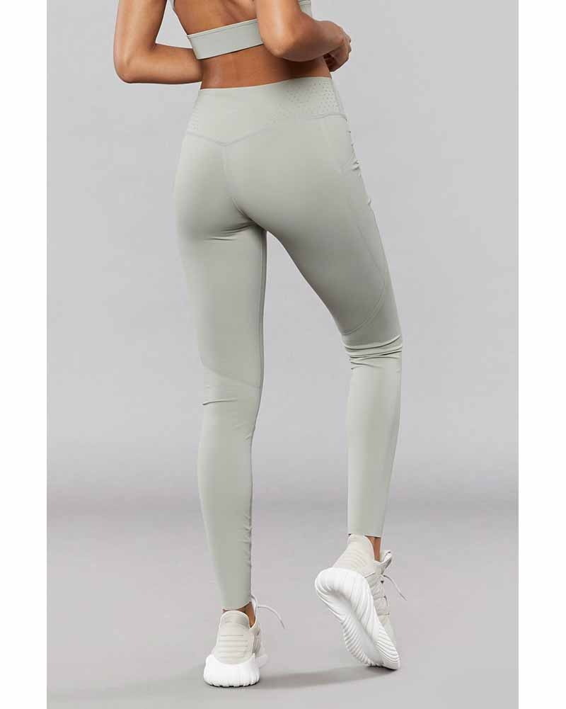 Varley Kelton Legging - Womens - Rock Ridge Green - Activewear - Bottoms - Dancewear Centre Canada