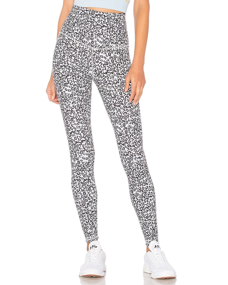 Varley Preston Legging - Womens - Sky Leopard Print - Activewear - Bottoms - Dancewear Centre Canada