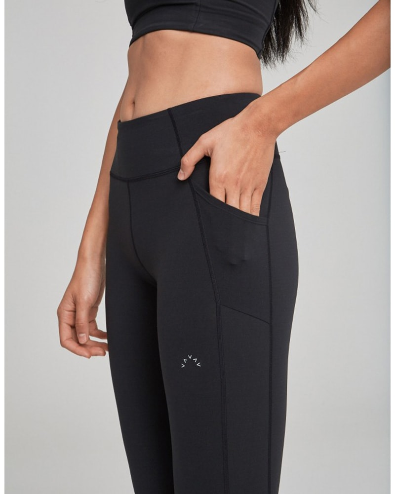 Varley Slauson Legging - Womens - Black - Activewear - Bottoms - Dancewear Centre Canada