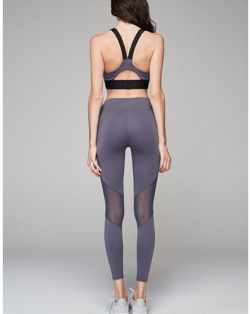 Varley Walnut Legging - Womens - Slate - Activewear - Bottoms - Dancewear Centre Canada
