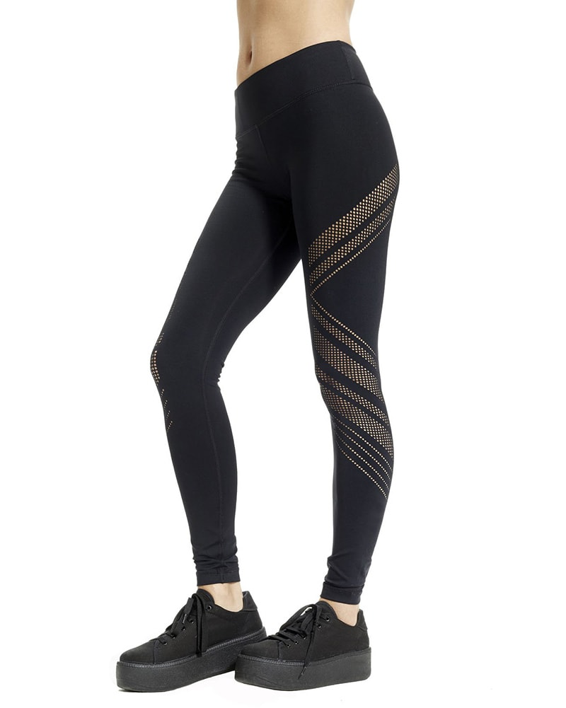 Vimmia Drill Legging - Womens - Black - Activewear - Bottoms - Dancewear Centre Canada