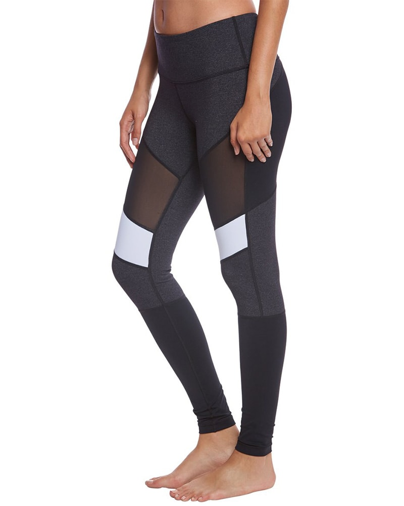 Vimmia High Waist Adagio Legging - Womens - Black/Charcoal