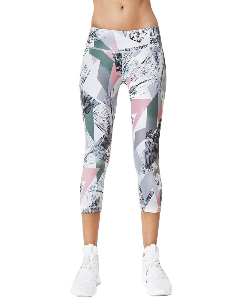 Vimmia Core Capri Legging - Womens - Horizon Print - Activewear - Bottoms - Dancewear Centre Canada
