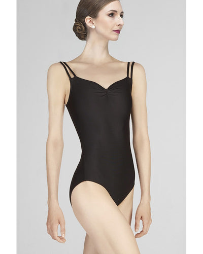 Wear Moi Mauve Double Strap Camisole Leotard - Womens - Dancewear - Bodysuits & Leotards - Dancewear Centre Canada