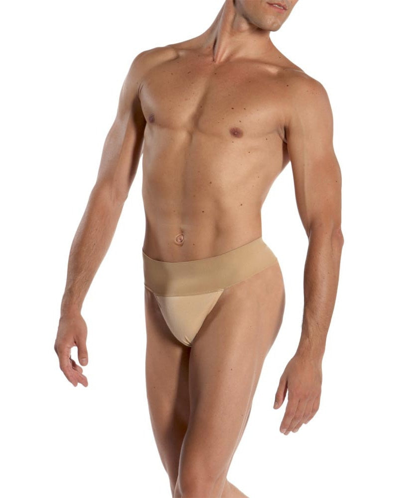 Wear Moi Padded Wide Waist Thong Dance Belt - Mens