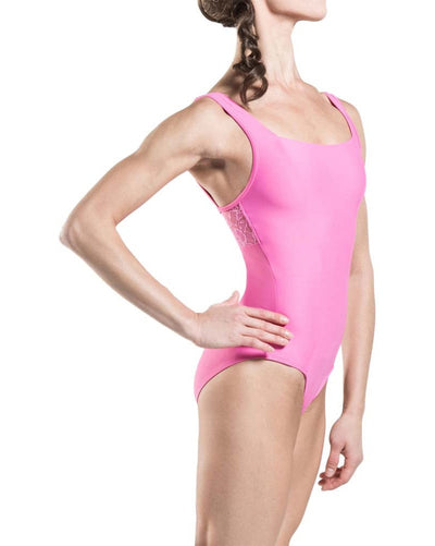 Wear Moi Poesie Lace Back Tank Leotard - Womens - Dancewear - Bodysuits & Leotards - Dancewear Centre Canada