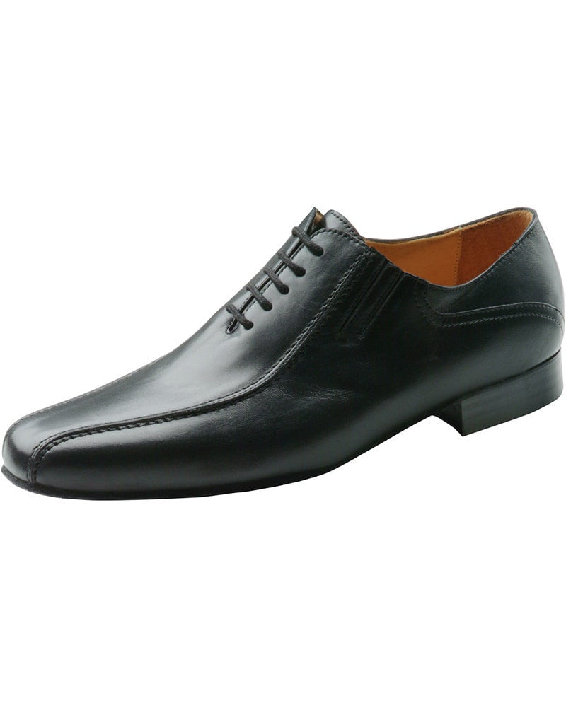 Werner Kern Elongated Toe Braided Seam Nappa Leather Oxford Ballroom Shoes - 28017 Mens - Dance Shoes - Ballroom & Salsa Shoes - Dancewear Centre Canada