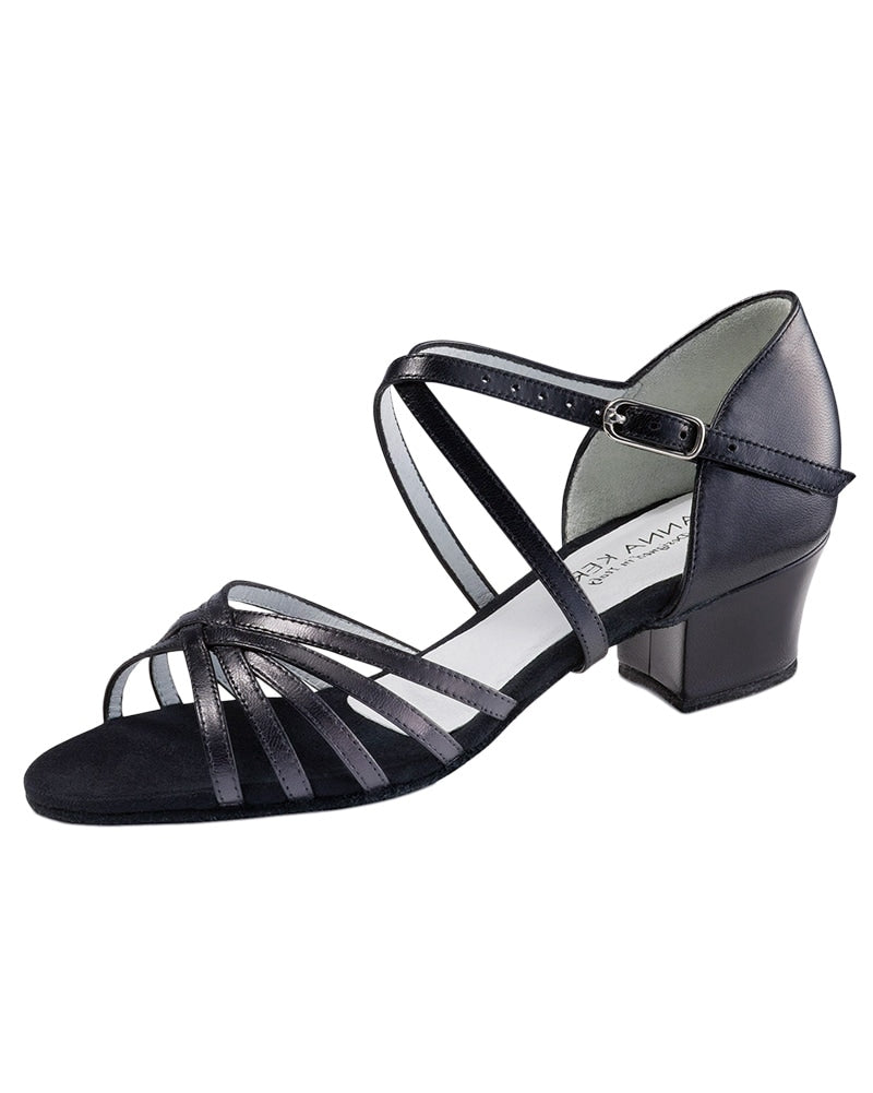 Werner Kern Cross Strap Leather 3.5 cm Latin Ballroom Shoes - 581-35 Womens - Dance Shoes - Ballroom & Salsa Shoes - Dancewear Centre Canada
