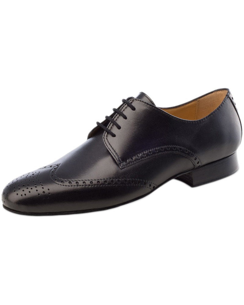 Werner Kern Wing Tip Nappa Leather Oxford Ballroom Shoes - 6642 Mens - Dance Shoes - Ballroom & Salsa Shoes - Dancewear Centre Canada