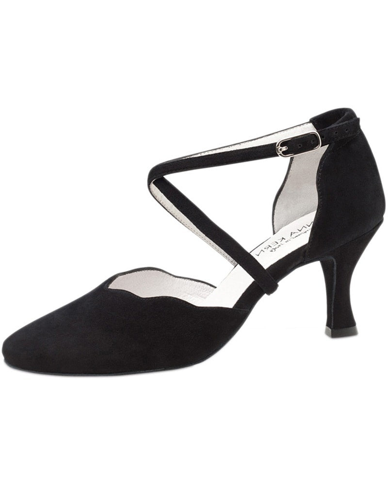 Werner Kern Closed Toe Suede 6 cm Latin Ballroom Shoes - 672-60 Womens - Dance Shoes - Ballroom & Salsa Shoes - Dancewear Centre Canada