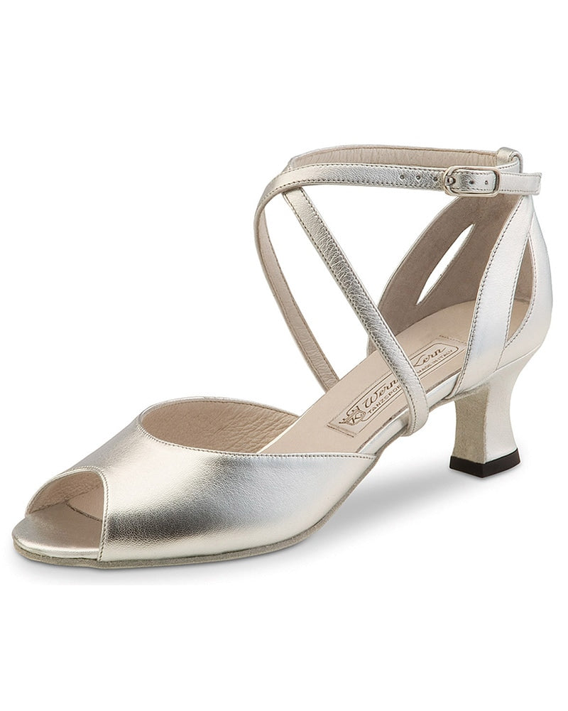 Werner Kern Tiziana Open Toe Leather 5.5 cm Latin Ballroom Shoes - Womens - Dance Shoes - Ballroom & Salsa Shoes - Dancewear Centre Canada