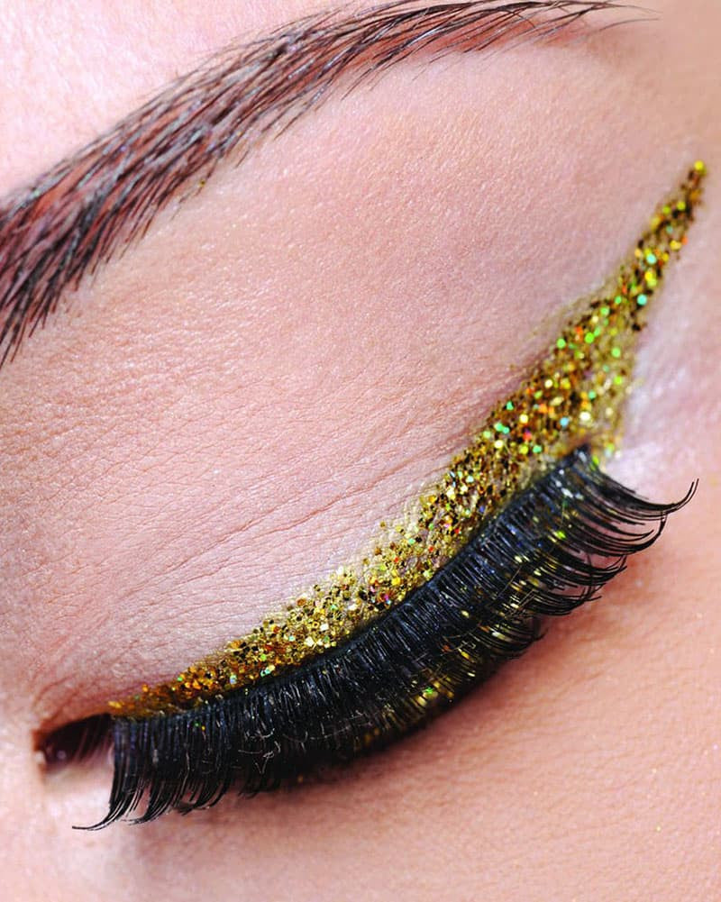 Yofi Cosmetics - Gold Glitter Eyeliner - Accessories - Makeup - Dancewear Centre Canada