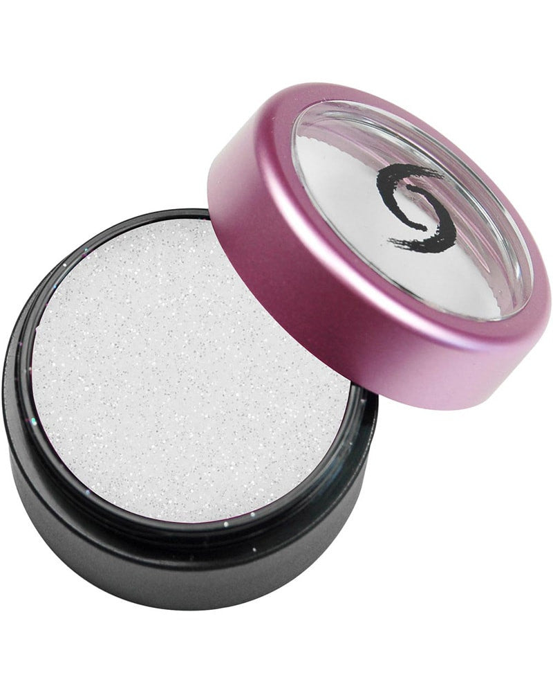 Yofi Cosmetics Glitter Eye Shadow - Sugar Sugar White